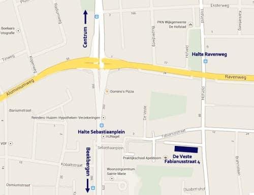 De Veste map